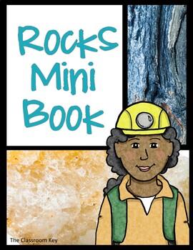 All About Rocks Mini Book