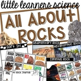 All About Rocks- Science for Little Learners (preschool, p