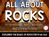 All About Rocks {PreK-2 Activities, Sorting, & Picture Informational Signs}