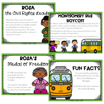 All About Rosa Parks - Black History Month