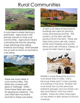 All About Rural Communities