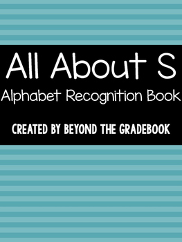All About S | Alphabet Recognition Book
