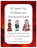 All About Saints Activity Packet (with an emphasis on All Saints' Day)