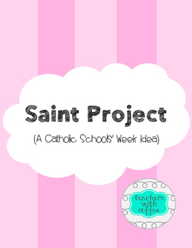 Saints Project Teaching Resources Teachers Pay Teachers