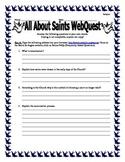 All About Saints WebQuest