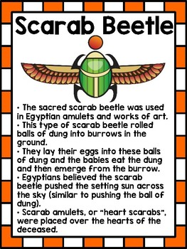 All About Scarab Beetles - Research, Reports, and an Art Project