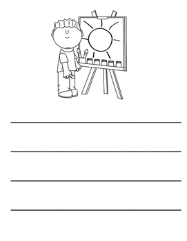 All About School- 20 Picture Writing Prompts