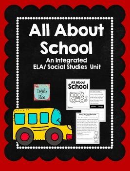 School Unit:  An Integrated ELA and Social Studies Unit
