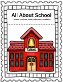 All About School; Lessons on nouns, adjectives, adverbs, a
