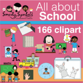All About School Set: 166 PNG Images