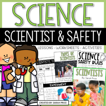 Scientist and Safety Interactive Notebook