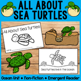 All About Sea Turtles | Emergent Readers | Non-Fiction | O