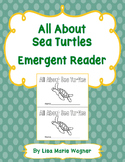 All About Sea Turtles Emergent Reader