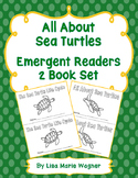 All About Sea Turtles Emergent Readers 2 Book Set