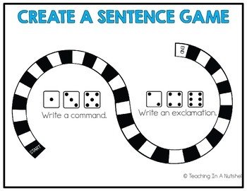 All About Sentences: Command and Exclamation Activities