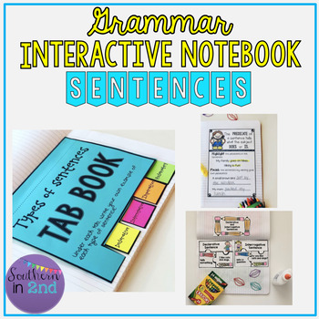 Grammar Interactive Notebook: Sentences