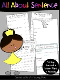 All About Sentences Writing Journal & Lessons