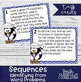 All About Sequences Task Cards | Arithmetic Sequences
