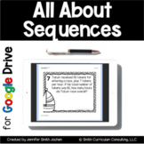 All About Sequences Task Cards | Google Drive for Distance Learning