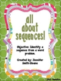 All About Sequences Word Problems