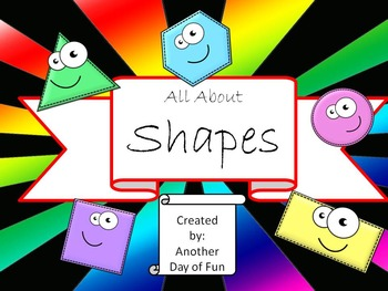 All About Shapes - A fantastic collection of shape activities
