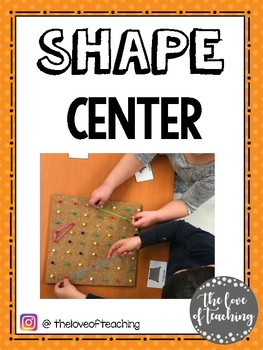 All About Shapes Math Center