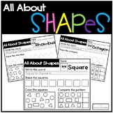 All About Shapes - No Prep Worksheet Activity
