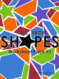 All About Shapes - Worksheet Pack #1