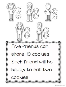 All About Sharing Cookies non fiction book for beginning readers