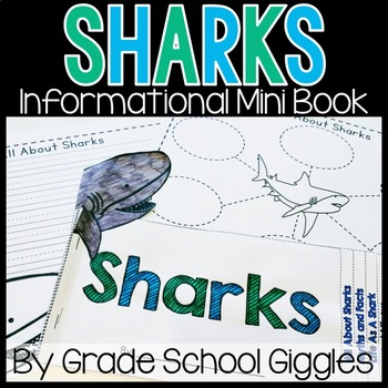 Sharks Mini Book: Informational Text About Sharks