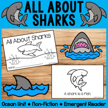 All About Sharks | Emergent Readers | Non-Fiction | Ocean Animals