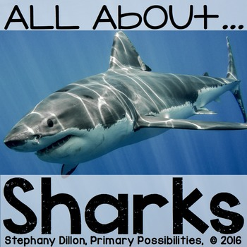 All About Sharks {Non-Fiction Research and Activities}