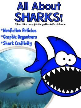 All About Sharks {NonFiction Unit}