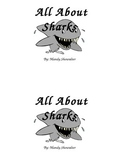 All About Sharks emergent sight word reader