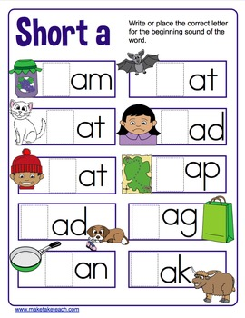 Short Vowels - All About Short Vowels!