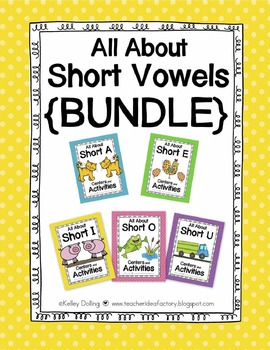 Short Vowels {Bundle}