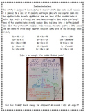 All About Slope-Intercept Activity