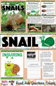All About Snails Nonfiction Unit