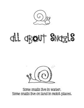 All About Snails reader