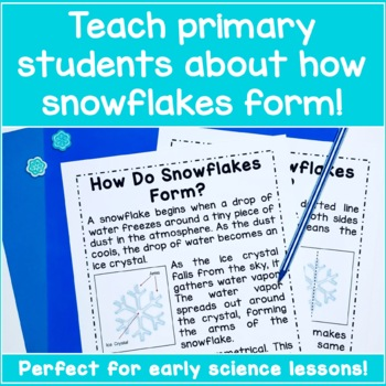 Winter Unit Study - All About Snowflakes!