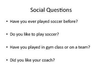 All About Soccer Adapted Book