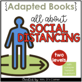 All About Social Distancing Adapted Books [Level 1 and Level 2]