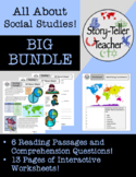 All About Social Studies Passage and Worksheet BIG BUNDLE