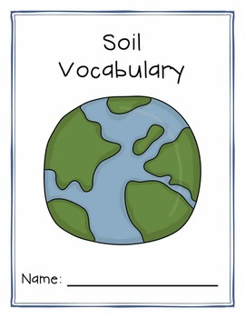 Soil Tiered Vocabulary Booklets