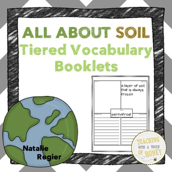 Vocabulary Activities | Vocabulary Graphic Organizers | Soil Vocabulary