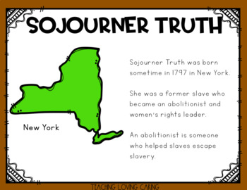 All About Sojourner Truth - Black History Month
