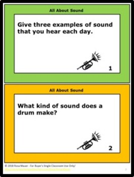 All About Sound Science Questions