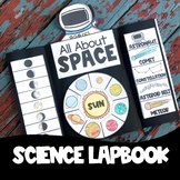 All About Space Lapbook Solar System Science Lapbook with Answers