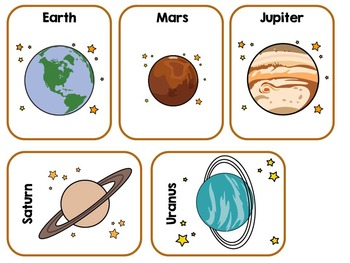 All About Space & The Solar System Adapted Book Autism, SLP, Special Education