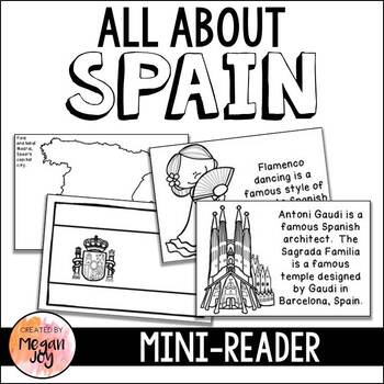 All About Spain Mini-Book